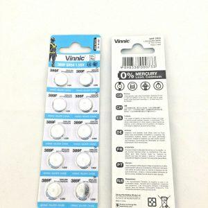 vinnic 389 silver oxide 10-pack