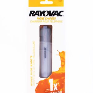 PS92GY Rayovac charger boxed