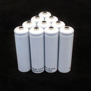 10 NiCad AA batteries