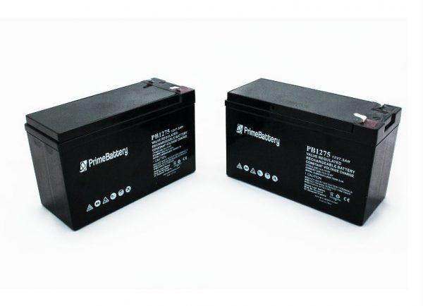 12V 7.5 AH Batteries