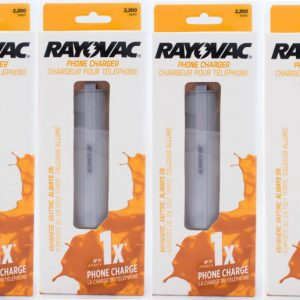 Rayovac Portable power (4-pack)